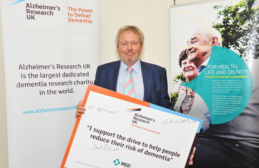 giles at alzheimers event
