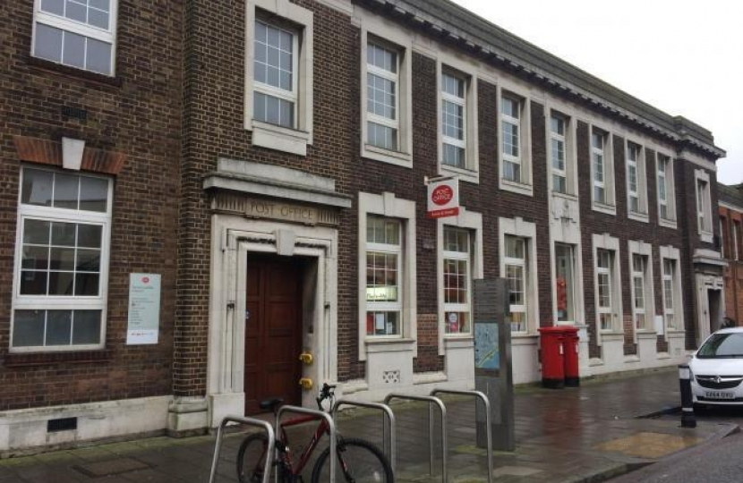 Clacton post office