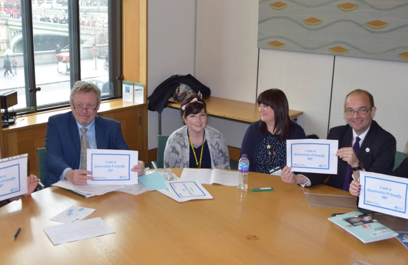 Giles pledges to be Dementia friendly
